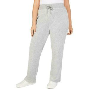 CALVIN KLEIN Womens Gray Lounge Pants
